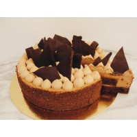Roppanós Tejcsokoládé mousse torta
