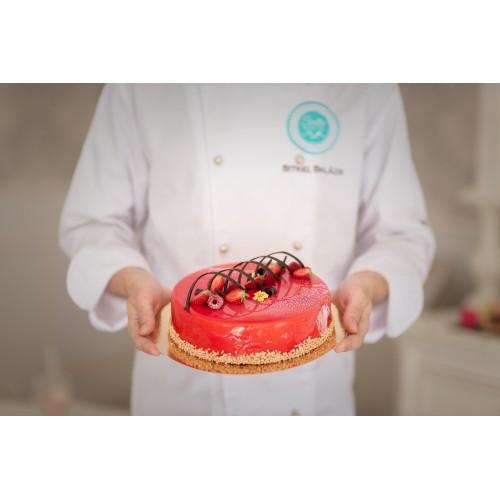 Epres- tejcsokoládé mousse torta